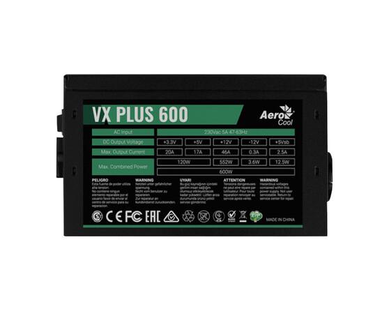 Блок питания Aerocool VX 600