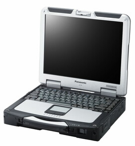 Toughbook CF-31mk5 IP65 Core™ i5-5300U vPro 2.3GHz with Intel® Turbo Boost up to 2.9GHz, 3MB Cache, 4Gb DDR3, 500Gb HDD, 13.1 XGA TFT 1024x768 non-Tou