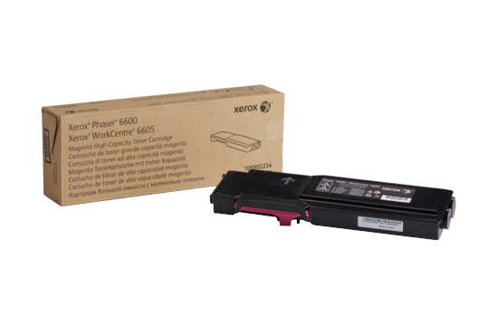 Фото товара Phaser 6600/WorkCentre 6605, пурпурный тонер-картридж повышенной емкости