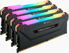 Оперативная память Corsair Desktop DDR4 3200МГц 4x16Gb, CMW64GX4M4C3200C16, RTL