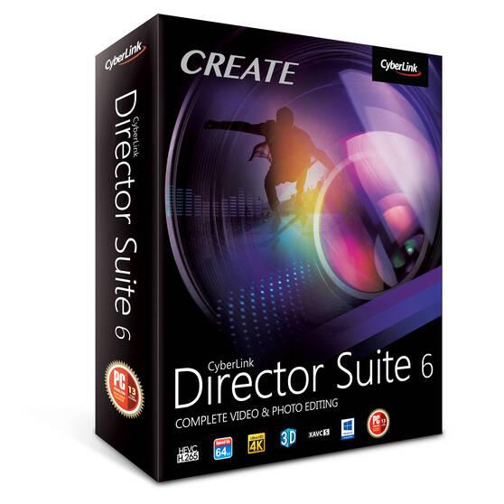 CyberLink Corporation CyberLink Director Suite (академическая лицензия), DRS6EUE01