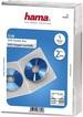 Коробка Hama на 2CD/DVD H-83892 Slim Case прозрачный (упак.:5шт) фото