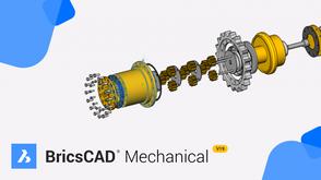 Bricsys BricsCAD Mechanical 19