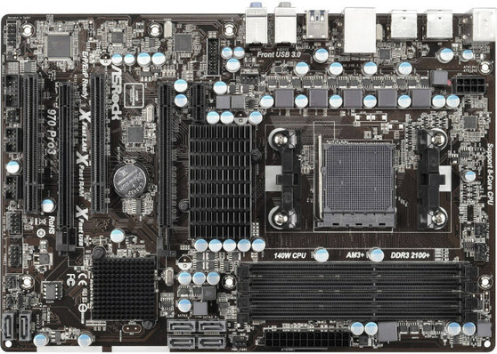 Материнская плата ASRock AM3/AM3+ AMD 970 970