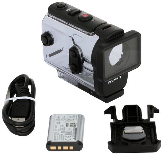 Экшн-камера Sony HDR-AS50 1xExmor R CMOS 11.1Mpix черный