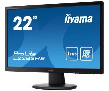 Монитор Iiyama E2283HS 21.5'' черный