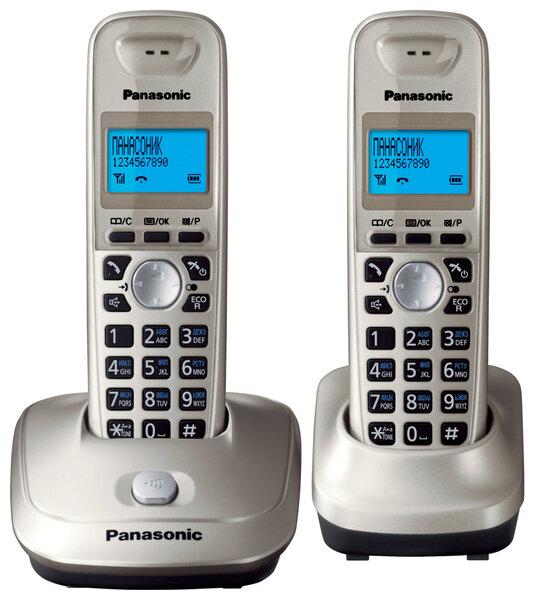 Радиотелефон Panasonic TG2512, 2 трубки