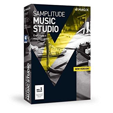 Magix MAGIX Samplitude Music Studio (лицензия), базовая версия, ANR008859ESD