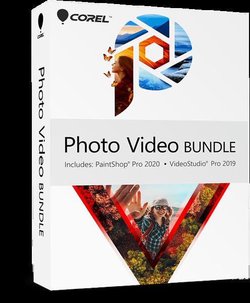 Corel Corporation Corel Photo Video Suite 2020 (лицензия ESD), цена за 1 лицензию