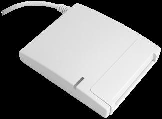 Аладдин Р.Д. Смарт-карт ридер JCR721 в индивидуальной упаковке, светло-серый, JCR721-0AWRP