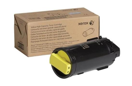 Фото товара VersaLink C500/505, желтый тонер-картридж повышенной емкости