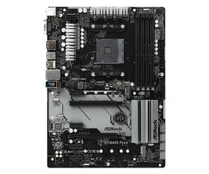 Материнская плата ASRock AM4 AMD B450 B450 PRO4