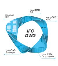 Нанософт nanoCAD Инженерный BIM (переход на сетевые версии для постоянных лицензий на 1 рабочее место), с локальной лицензии на сетевую лицензию, дополнительное место, NCBIM100_CNL_CUL_CNN_ADD