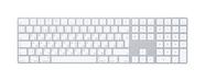 Клавиатура Apple Magic Keyboard with Numeric Keypad MQ052RS/A, цвет серебристый фото