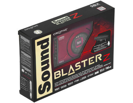 Звуковая карта CREATIVE PCI-E Sound Blaster Z