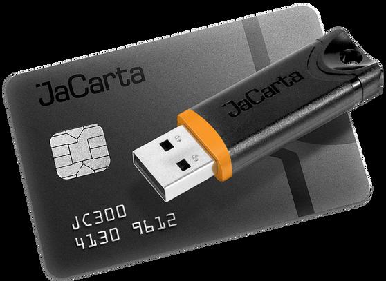 Аладдин Р.Д. JaCarta (смарт-карта JaCarta PRO), Сертификат ФСТЭК России. до 10 000 шт. (за единицу), JC309-1