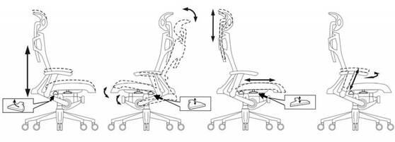 Кресло руководителя Бюрократ 811