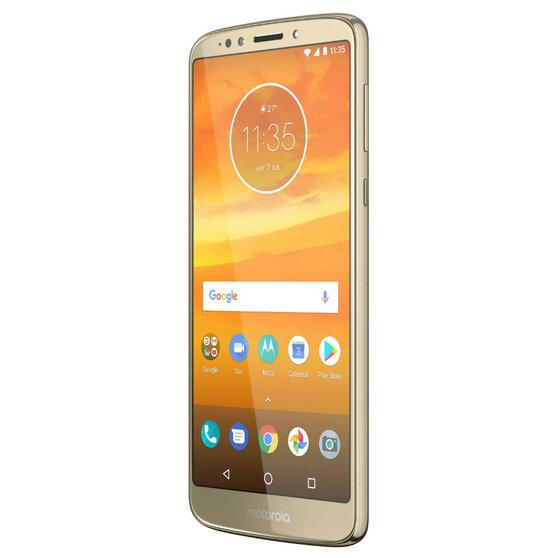 Смартфон Motorola MOTO E5 Plus  XT1924-1 32 ГБ золотистый