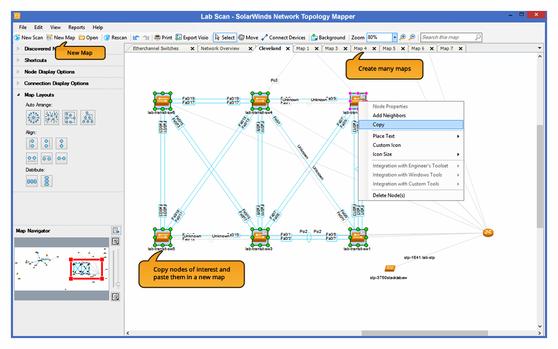 SolarWinds Network Topology Mapper 2