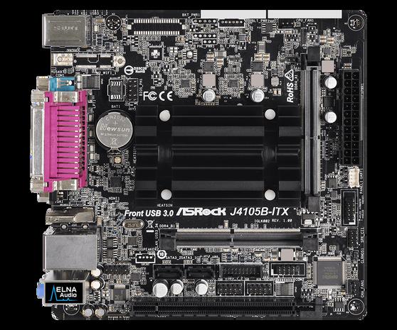 Материнская плата ASRock Onboard CPU J4105B-ITX