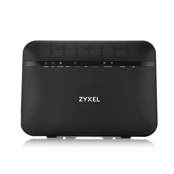 ZYXEL VMG8924-B10D Dual Band Wireless AC/N VDSL2 VoIP Combo WAN Gigabit IAD VDSL2 profile 17a over POTS IAD, GbE WAN, 4GbE LAN, 2 FXS ports, 1 USB 2.0