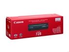 Тонер-картридж черный Canon 728, 3500B010 фото