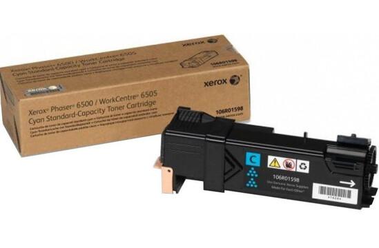Фото товара Phaser 6500/WorkCentre 6505, голубой тонер-картридж стандартной емкости