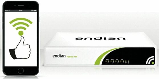 Endian Hotspot (Virtual License), 1500, EN-S-HV0000-16-1500