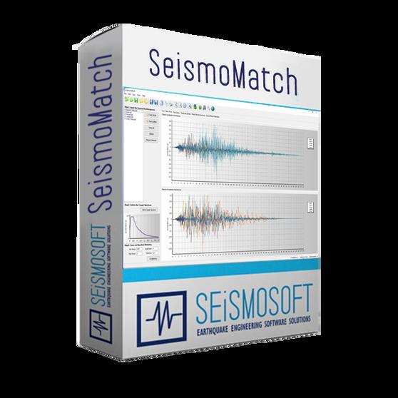 Seismosoft SeismoMatch 2020 (лицензия), Пакет лицензий SeismoMatch 2020 + SeismoSelect 2020