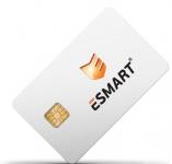 ISBC ESMART Token (Usb-ключ), 64K Metal (с сертификатом Фстэк). Количество лицензий