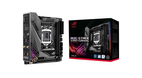 Материнская плата ASUS Intel Z390 ROG STRIX Z390-I GAMING