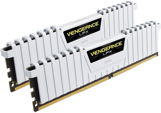 Оперативная память Corsair Desktop DDR4 2666МГц 2x8GB, CMK16GX4M2A2666C16W, RTL