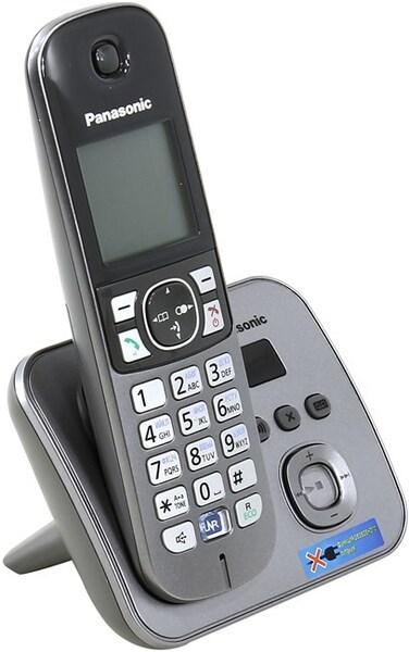 Радиотелефон Panasonic TG6821, 1 трубка , автоответчик