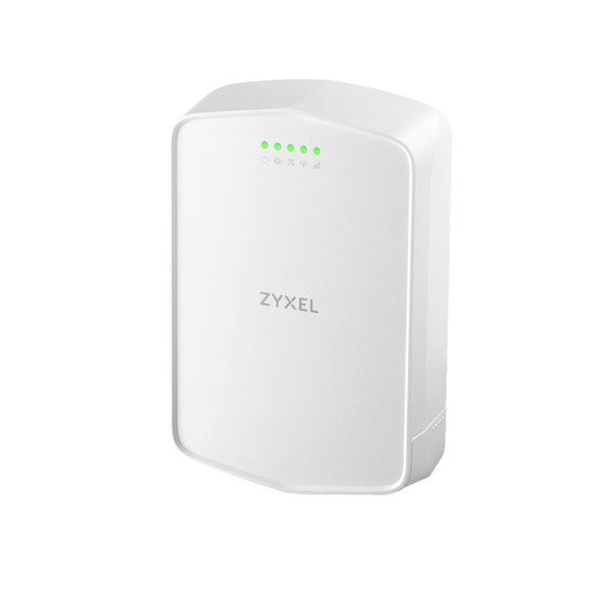 Zyxel LTE7240-M403 Outdoor LTE Cat.4 router  (SIM card inserted), IP56, support LTE / 3G / 2G, LTE bands 1/3/5/7/8/20/38/40/41, LTE antennas with coef
