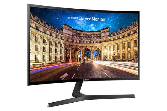 Монитор Samsung C_F396FHI 23.5'' черный