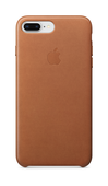 Apple Leather Case для iPhone 8 Plus/7 Plus, Saddle Brown