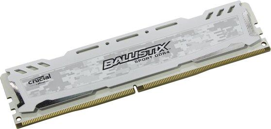 Оперативная память Crucial Desktop DDR4 2400МГц 8GB, BLS8G4D240FSCK, RTL