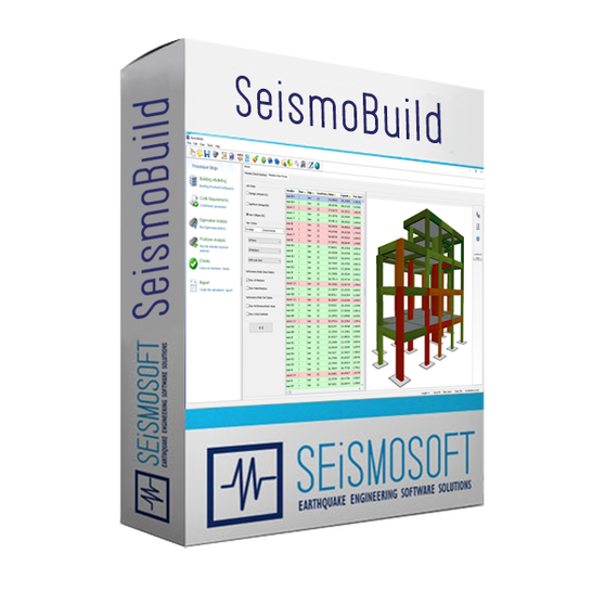 Seismosoft SeismoBuild 2020 (лицензия), Пакет лицензий SeismoBuild 2020 + SeismoStruct 2020 + USB Dongle Key