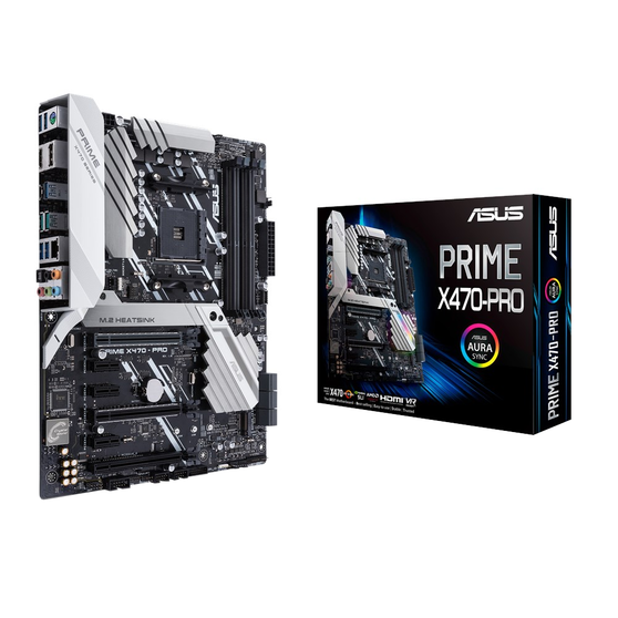 Материнская плата ASUS AMD X470 PRIME X470-PRO