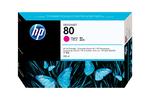 Картридж пурпурный HP Inc. 80, C4847A