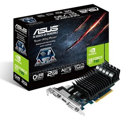 Видеокарта ASUS GeForce GT 730 2 ΓБ Retail