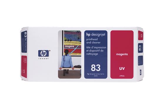 Печатающая головка пурпурный HP Inc. 83, C4962A