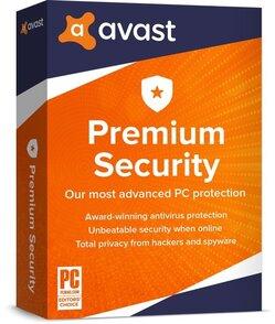 AVAST Software Avast Premium Security (лицензия на 2 года), for Windows 1 PC, aps-1-24m