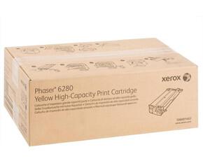 Phaser 6280, принт-картридж желтый Phaser h6280