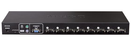 D-Link Коммутатор KVM-440 8-портовый переключатель KVM с портами PS2<wbr/>/USB