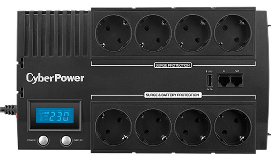 ИБП CyberPower Line-Interactive  BR1000ELCD
