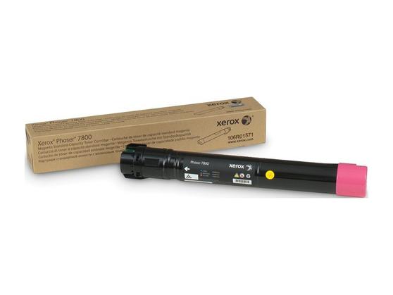 Phaser 7800, пурпурный тонер-картридж повышенной емкости