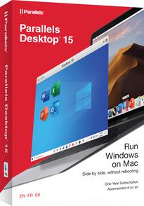 Corel Corporation Parallels Desktop 15 (лицензия), Retail Lic 1yr CIS, PD15-RL1-1Y-CIS