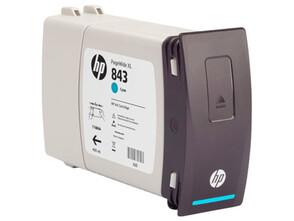 Картридж голубой HP Inc. 843C, C1Q66A