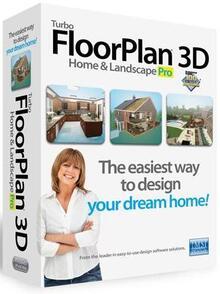IMSI/Design, LLC TurboFLOORPLAN Home & Landscape (лицензии), Professional Macintosh 2017